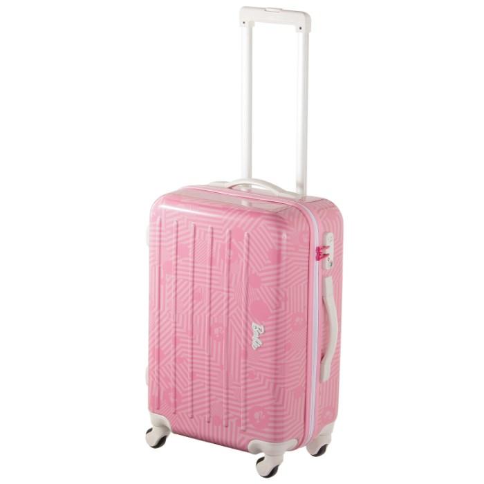 スーツケース レディース ガールズ Barbie バービー 47リットル 修学旅行 卒業旅行 合宿 部活 トラベルバッグ キャリーバッグ キャリーケース 06097