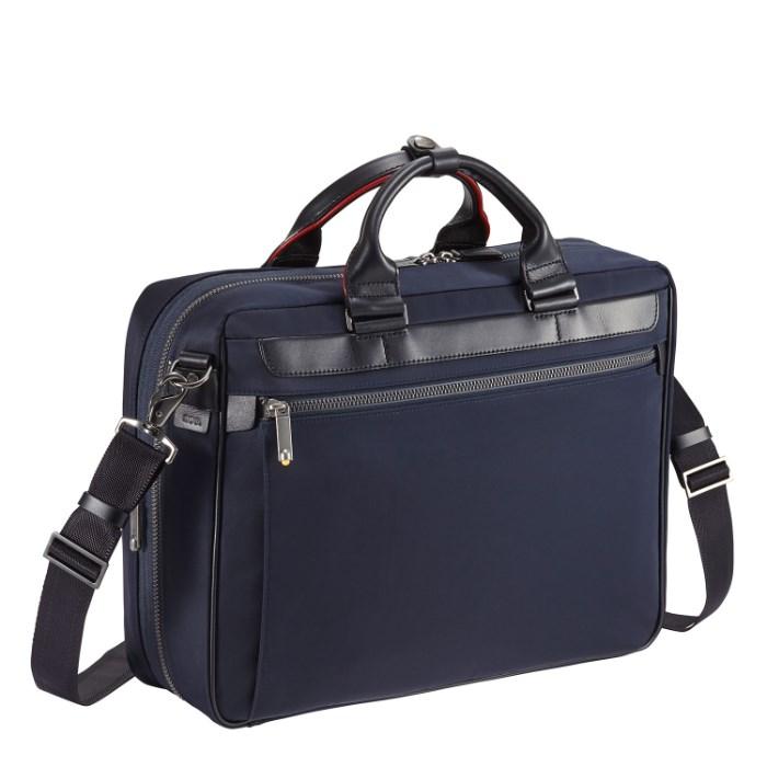 ビジネスバッグ メンズ ブリーフケース エース ジーン レーベル ace. ディバイドリム 1気室/A4サイズ マチ拡張・エキスパンダブル 13インチPC対応 通勤バッグ 55572