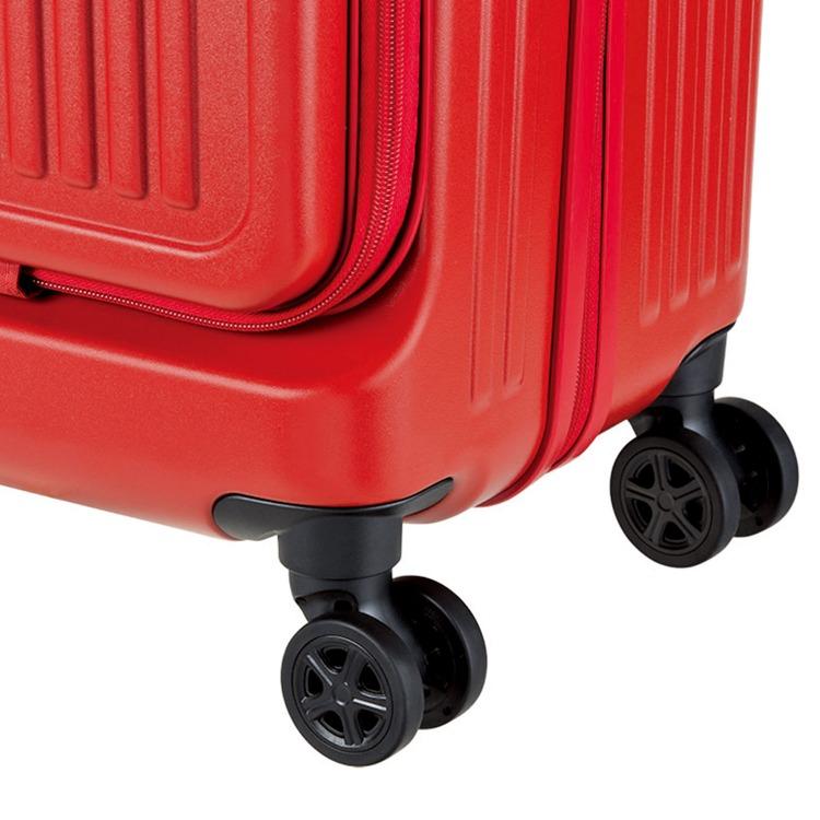 キャリーバッグ フロントオープン ジッパータイプ 36リットル ACE DESIGNED BY ACE IN JAPAN キャリーケース 機内持ち込み 06425 13インチPC収納 ジョリー スーツケース