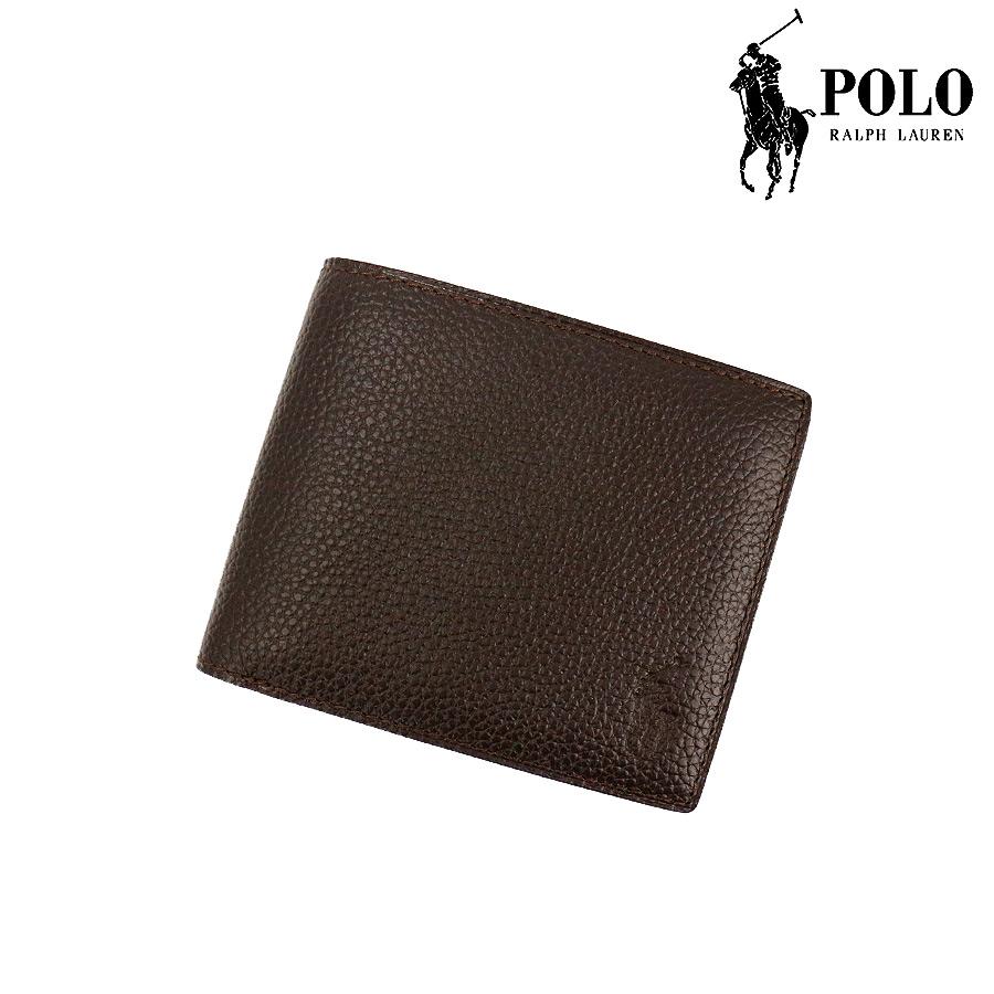 b71d4da64b23 Lauren)【財布 Ralph 2つ折り財布/ダークブラウン[P-212SH](Polo ...