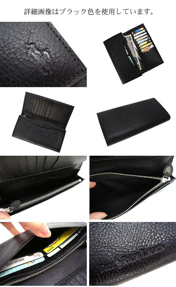 Polo Ralph Lauren (Ralph Lauren) Emerson long wallet wallet / Brown 02P10Nov13fs3gm