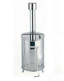 【送料無料】 ステンレス落ち葉焼却器(OED-60S)