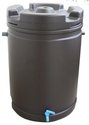 雨水タンク 185L 茶【送料無料】 【個人宅への配達はできません。】