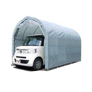 :〈南栄工業)パイプ車庫 2540UGR  軽自動車用(埋め込み式)【個人宅への配達になります。】【パイプ車庫 南栄工業 ナンエイ 南栄工業 車庫 ガレージ ガレージ車庫】雨、風、ホコリから愛車を守ります。 【決算処分価格】05P03Dec16