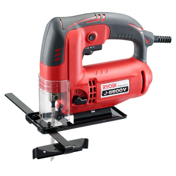 (リョービ)ジグソー(J-6500V) 木材や軟鋼板、アルミ等の直線・曲線加工に!05P08Feb15