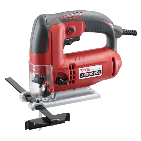 (リョービ)ジグソー(J-6500VDL) 木材や軟鋼板、アルミ等の直線・曲線加工に!05P08Feb1505P08Feb15