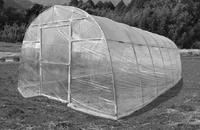 ビニールハウス 価格 農業用 南栄工業 温室 ハウス 小型 倉庫 物置  ハウス資材  菜園ハウス H-2748型 約3.8坪 会社等と福山通運の営業所止めに配達です 個人宅へは配達はできません H-2748 ナンエイ ビニール ビニール温室 送料無料