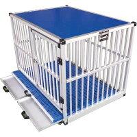 移動可能ドッグケージ アルミ製 アルペットAL-P105(旧:AL-P86)【代金引換不可】【会社等と西濃運輸の営業所止めに配達です。個人宅へは配達はできません。】【送料無料】 【アルミ 大型犬 犬小屋 大型犬サークル】