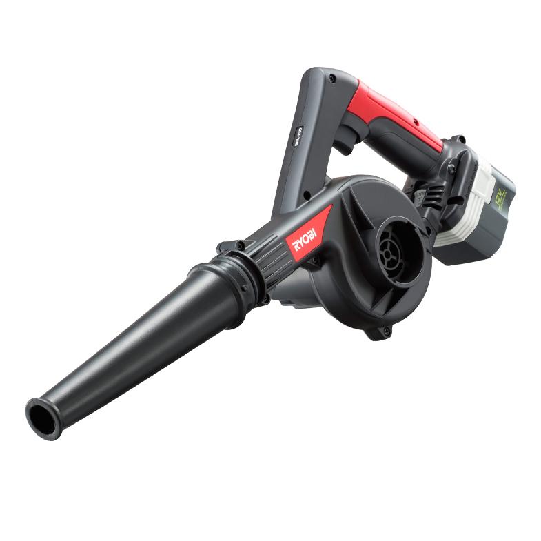 RYOBI(リョービ)充電式ブロワー BBL-120(フルセット) (電池パック、充電器付き)送料無料吹き飛ばし清掃に【リョービ RYOBI 充電式ブロワー ブロワ ブロワー ブロアー】