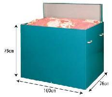 カラー鋼板製 布団缶 【送料無料】大切な布団をねずみから守ります!05P01Mar15