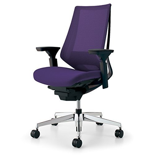 【T-ポイント5倍】 【組立無料 CR-GA3031E6KZ7E-V デュオラ】 コクヨ デュオラ イス オフィスチェア ディープパープル 事務椅子 メッシュタイプ デスクチェア 事務椅子 シンプルデザイン多機能チェア CR-GA3031E6KZ7E-V, ホワイトカルレ:d94893d4 --- delivery.lasate.cl