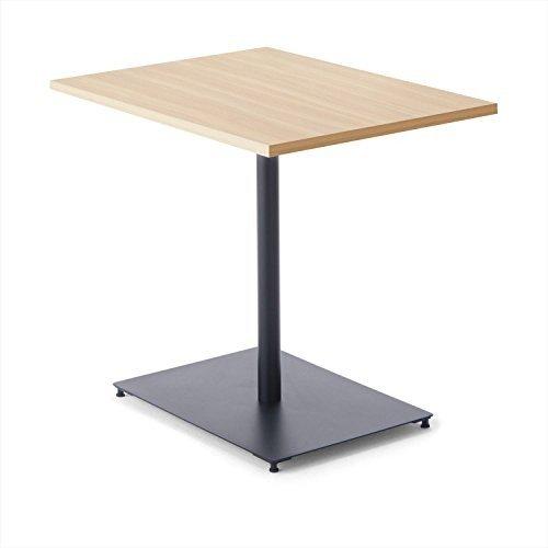 【組立無料】 コクヨ ミーティングテーブル DAYS OFFICE flip top XY-TFT68SEE6AMC1N 幅60×奥行80cm 天板グレインドナチュラル/脚ブラック