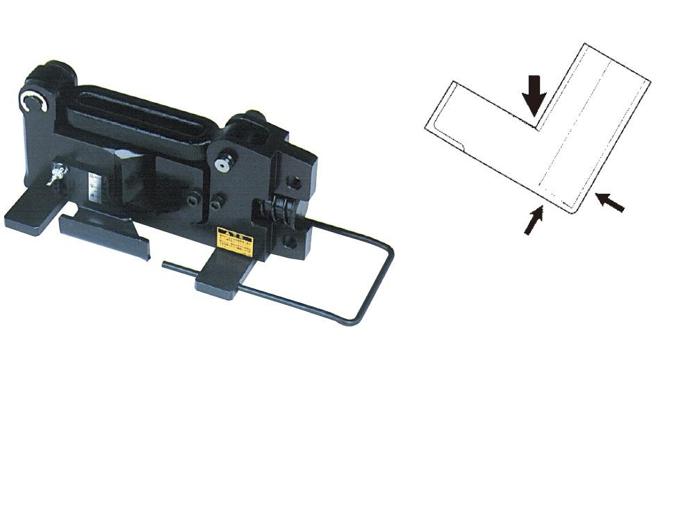 カクタス(CACTUS)マルチ工具用アタッチメント アングル加工機 ベンダー EV2-AKB