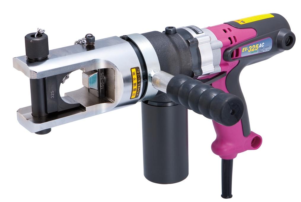カクタス(CACTUS)電動式油圧圧着工具 クリンプボーイ EV-325AC 【標準セット】