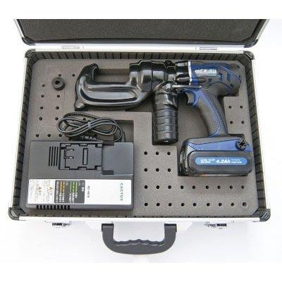 カクタス(CACTUS)リチウムイオン電池式圧縮工具 EW-8DL用アルミ収納ケース(中身別売り)