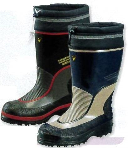 防寒長靴 防寒安全長靴インナー付(WT-749)【防寒ブーツ/防寒対策用品/寒さ/寒冷地/暖かい】