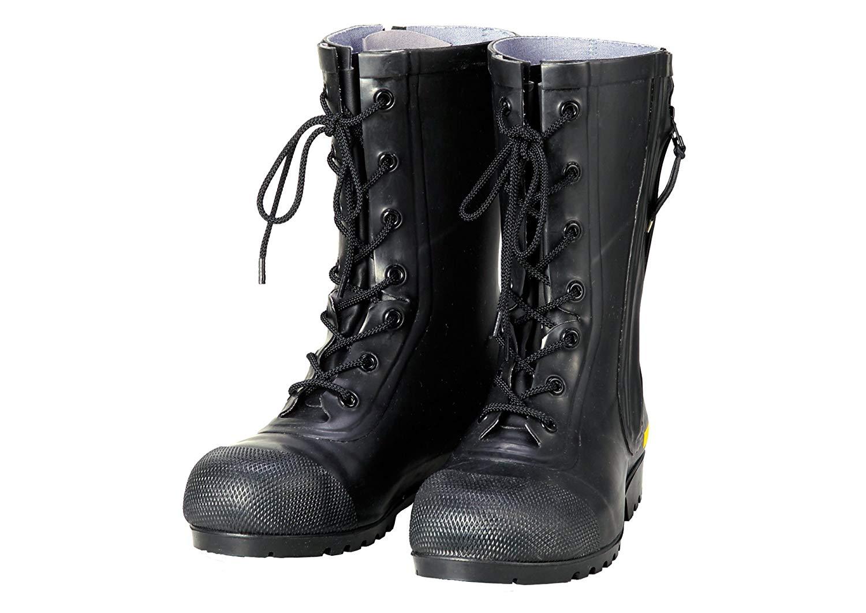 シバタ工業 SHIBATA SG201 消防団員用ゴム半長靴 AF020  各サイズ