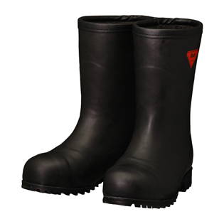 シバタ工業 SHIBATA 安全防寒長靴 AC121 セーフティベアー#1011白熊(ブラック)(フード無し)  各サイズ