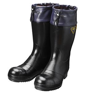 シバタ工業 SHIBATA 静電気帯電防止長靴 購買 オーバーのアイテム取扱☆ AE021 ブラック セーフティベアー#8000静電防寒 各サイズ