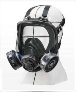 重松製作所(シゲマツ) 防毒マスク TW022Sd Mサイズ 防じん防毒併用タイプ 10個セット