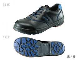 シモン Simon 安全靴 短靴 SL11-BL黒/青