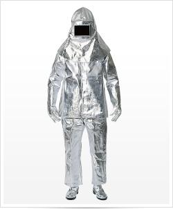 重松製作所(シゲマツ) 78003 FC-13PM ズボンのみ 耐熱作業服(アルミ蒸着品)