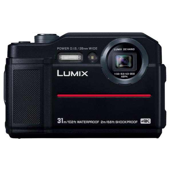 卸し売り購入 ブラック:エース工具 DC-FT7-K パナソニック コンパクトデジタルカメラ-DIY・工具