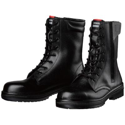 ドンケル ラバー2層底安全靴 長編上靴 メーカー在庫限り品 EEE 別倉庫からの配送 各サイズ ファスナー付きR2-04T