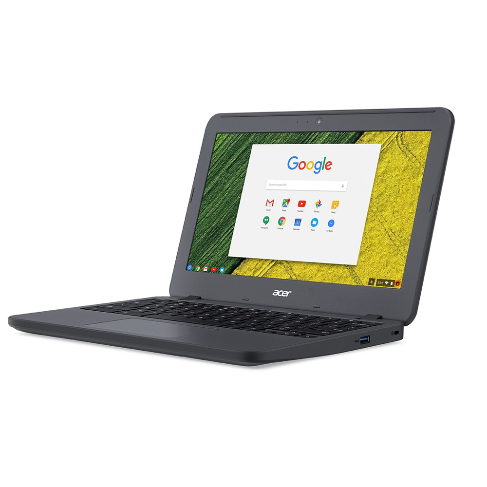 【堅牢性に優れたノートパソコン!】Chromebook 2GB 16GB Celeron N3060 ノートPC モバイルPC 11 N7 Acer エイサー C731-F12M eMMC 11.6インチ Chrome OS Officeなし スティールグレイ