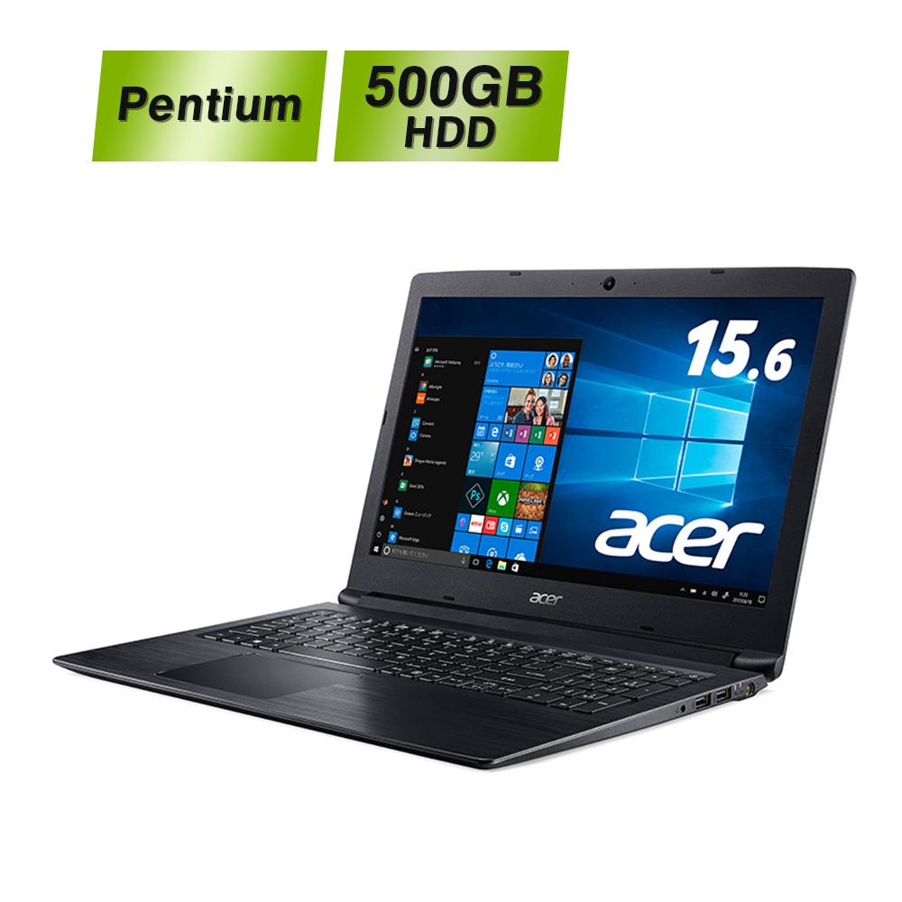 【初めてのPCにもおススメなエントリーモデル】Acer ノートパソコン Aspire3 A315-53-N24DZ Pentium Gold 4417U 4GB 500GB HDD 15.6型 Windows10 非光沢パネル Intel Pentium 2.3 GHz エイサー ラップトップ ノートPC 新品 Microsoft