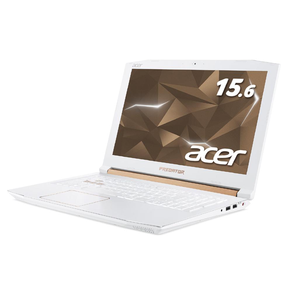 年度末特価3/31 23:59まで【世界台数限定!ハイパワーゲーミングPC】Acer エイサー ゲーミングノートPC PH315-51-A76H/W (Predator Helios) Core i7(8750H) 8GB 256GB SSD 1TB HDD GeForce GTX 1060 15.6インチ IPS 144Hz 有線LAN(新品・送料無料)
