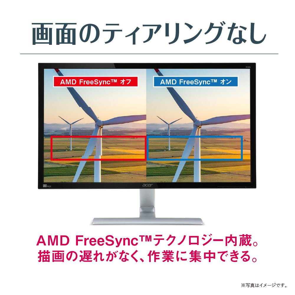 在庫限りで値下~!【4Kで1ms HDR10はこれ!PS4などのゲームに!】エイサー Acer 4Kゲーミングモニター RT280KAbmiipx 28インチ 非光沢 4K HDR TN 1ms HDMIx2 DP入力対応 PCモニター(新品)gaming2019