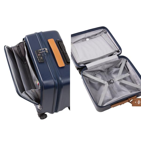 (ファスナータイプ) スーツケース TSAロック / 0971107 ARZILLO 横型 ≪7日間プラン≫ 機内持込サイズ 33リットル 旅行 送料無料 オロビアンコ スーツケースレンタル 【レンタル】