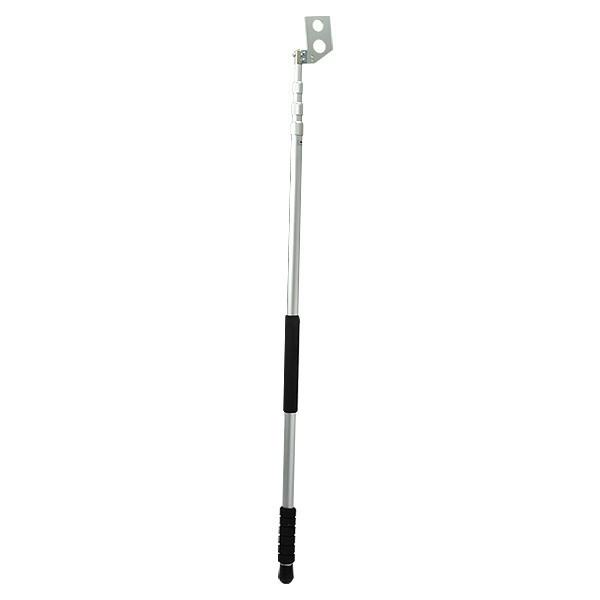 ハイビスカス 66ロッド用オプション 標尺支持棒 4m4段段タイプ ジョイントクロス金具(別売)が必要です
