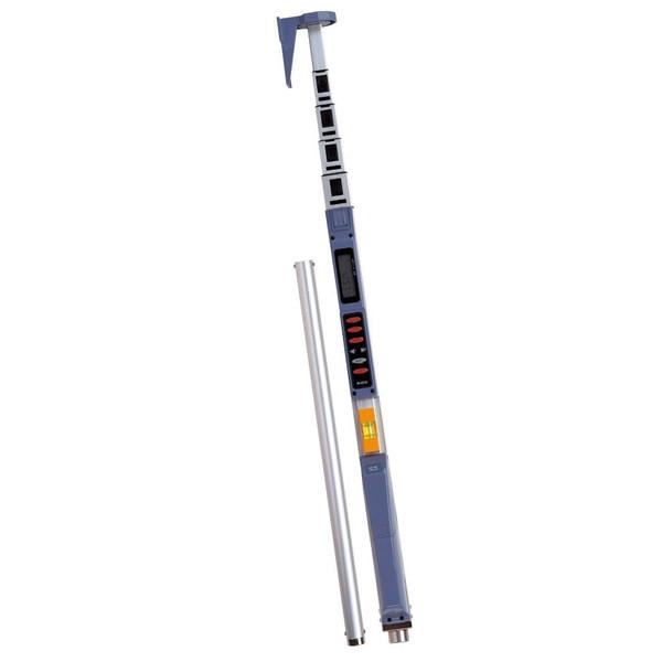 ムラテックKDS レーザーキャッチ 受光棒II JK-40L 収納長1390mm 引張長4530mm 回転レーザーレベル受光器用補助具 【高さ測定 高低差測定】