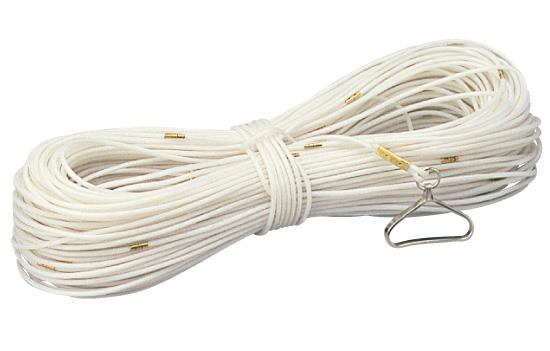 パイレン 測量ロープ 200m PR4-200 化学繊維 1m目盛 [河川測量]