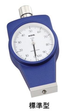 [送料無料] ムラテックKDS ゴム硬度計 タイプE DM-107E 標準型 手押し測定専用 [消しゴム 低硬さエラストマーなど一般ゴム用]