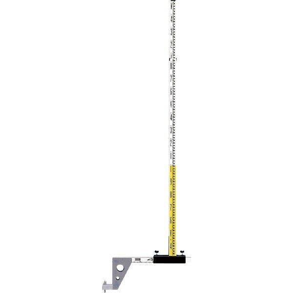 [送料無料] SK|TAIHEI 大平産業 マンホールスタッフ Kタイプ 3.5m2段 MHS-3S 下水管用スタッフ 【測量/土木/建築/工事 垂直/水準】※【代引き不可】※大型商品のため代引決済はご利用できません。
