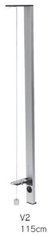 バーチカル測傾器 V2型 足付115cm 家屋の傾き調査 測定 勾配測定器 震災 埋立地陥没 傾斜度合い