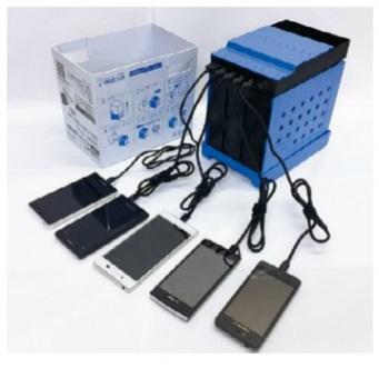 スマフォの充電に 非常用マグネシウム空気電池 WATT SATT【災害/豪雨/台風/水害/氾濫/防災/大雨警報】