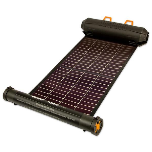 [送料無料] ブッシュネル ロール式携帯ソーラーパネル ソーラーラップ250 太陽光蓄電バッテリー USB出力ポート装備 【スマートフォン/スマホ充電/アウトドア/キャンプ/登山】
