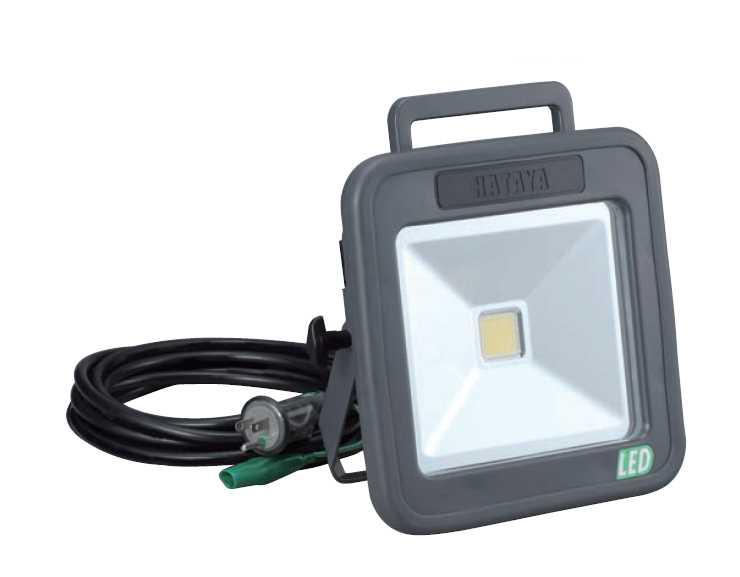 HATAYA LEDケイ・ライト LWA-30 100V 30W白色LED 50/60Hz兼用 全光束3000ルーメン [ハタヤリミテッド 畑屋製作所]