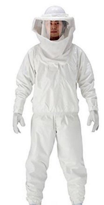 蜂対策ウェア 蜂防護服ラプターIII V-1000 スズメバチの駆除などに(※防護手袋は別売り)