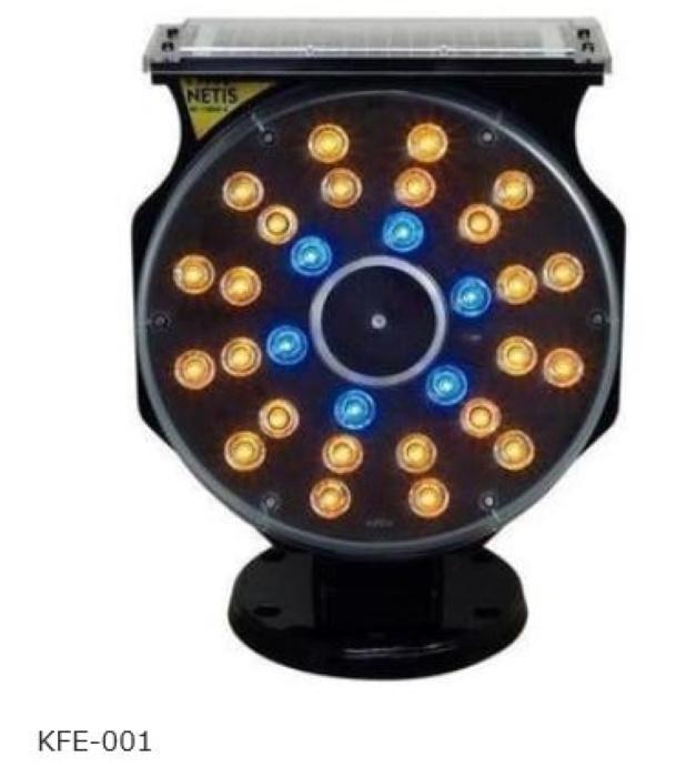 ソーラー式LED警告灯 スプレンダーGIII キタムラ産業 LED工事灯 保安用品