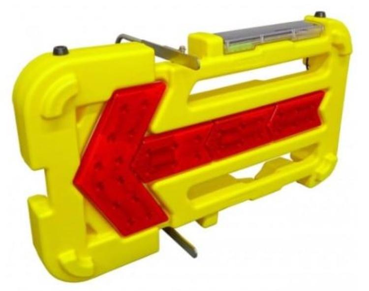 LED矢印板 壊れにくい矢印板 キタムラ産業 KAB-003 ソーラーユニット標準装備 点滅 流動 夜間自動点滅機能付 LED警告灯 LED工事灯 保安用品