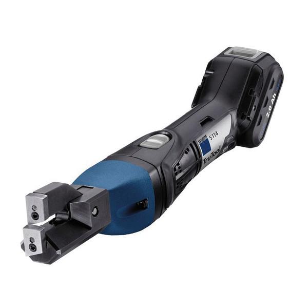 TRUMPF トルンプ電動工具 コードレストリミングシャー S114 リチウムイオンバッテリー【パイプ/プロファイル/平板のトリミング】