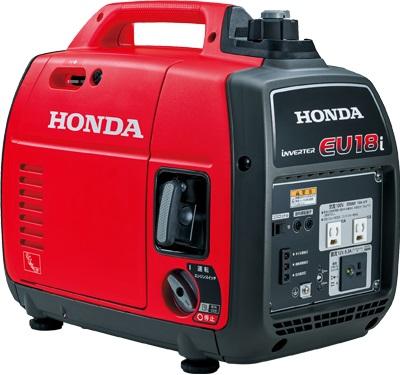 入荷しました。 HONDA 発電機 ホンダ インバーター発電機 EU18i-jn ポータブル 防災グッズ 携帯 非常用電源 DIY オートキャンプ 小型 家庭用発電機