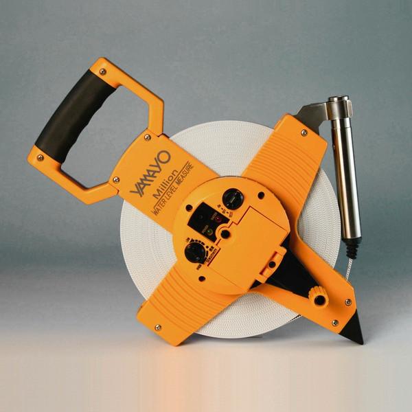ヤマヨ ミリオン水位計 50m WL50M テープタイプ 片面2mm目盛 水位検知ランプ付