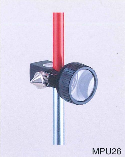 ペンタックス測量機 MPU26 インチプリズムセット(定数0) スライド式 測距/光波/ミラー/トータルステーション用