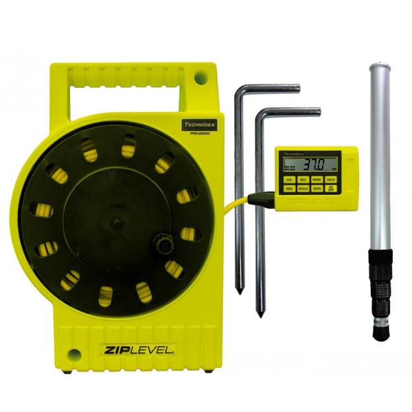 [送料無料] TECHNiDEA テクニディア(米国) デジタル水盛器 ジップレベルプロ2000 【高低差測定器/土木/建築基礎工事/測量/墨出し】